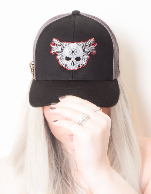Wolf in a World of Sheep Trucker Hat