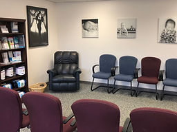 chairs in ob-gyn waiting room
