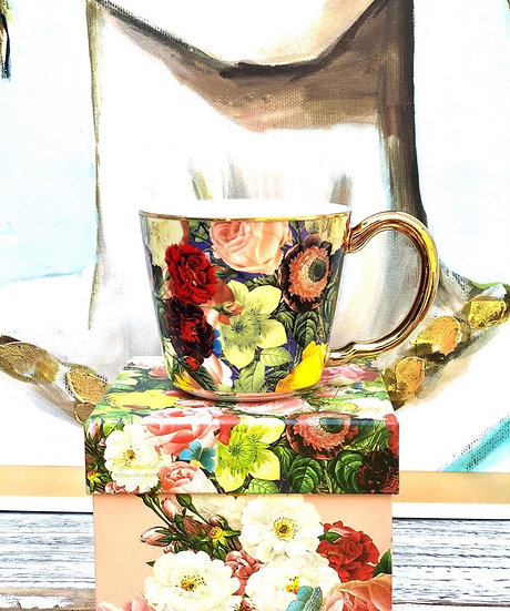 Pretty Floral Cup