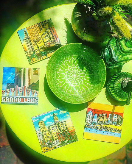 Imperfectly Perfect Oakland Coasters