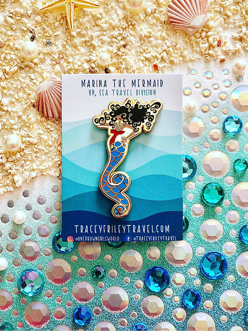 Marina the Mermaid Pin