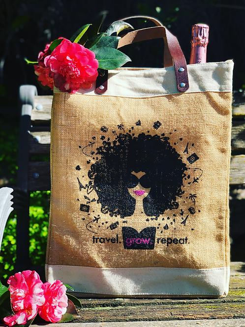 FlyGirl Carry-All Market Bag