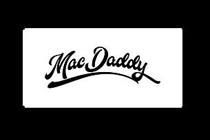 MacDaddy Final Logo B&W(Updated 7_02).pn