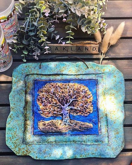 Indoor/Outdoor Oak Tree Sculpture