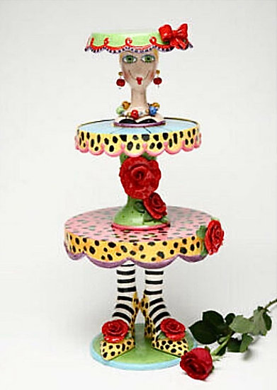 That's Quite A Cake Stand