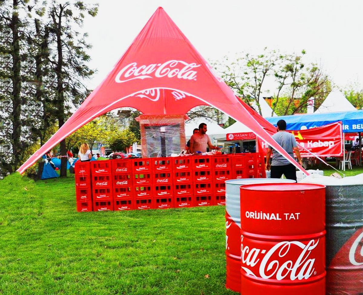 Coca Cola Yıldız Tente