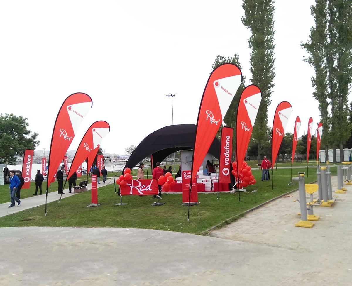 Vodafone Damla Bayrak