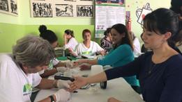 Funcionários do CFC participam de ação de saúde