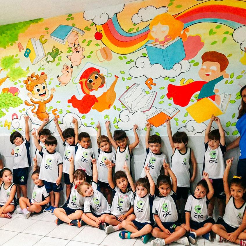 Mural - Sala Literária