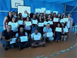 Brigadistas e socorristas recebem certificados