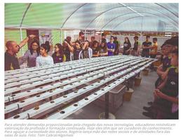 Matéria publicada na revista Algomais (online) destaca o CFC em conteúdo sobre educação e tecnologia