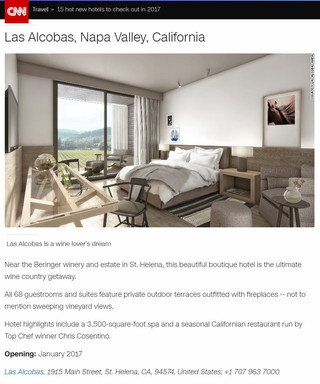 Las Alcobas Project On The Top 15 New Hotels To Check Out In 2017