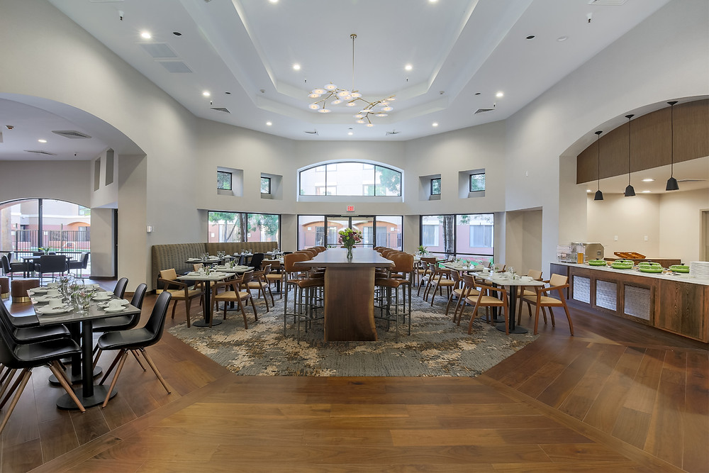 Image showing the inside of the renovated DoubleTree Hotel in Rancho Cordova