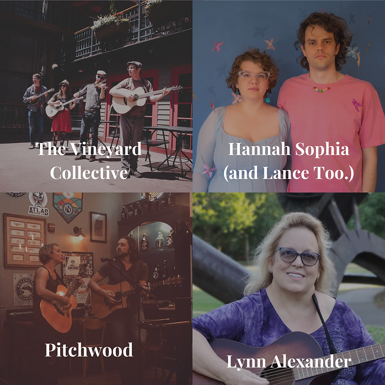 Backyard Potluck & Concert with Hannah Sophia (and Lance Too.), The Vineyard Collective, Pitchwood & Lynn Alexander