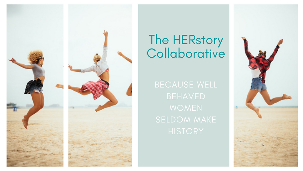 The HERstory Collaborative Logo