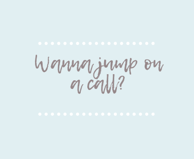 Book a 20-minute Call with Jen Buck