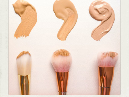 """Is it OK to only wear concealer?"""