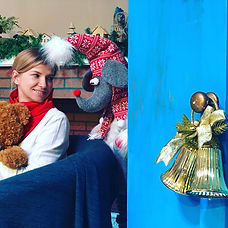 """Новогодний выездной спектакль для детей Сказка """"Путешествие в детство"""" - Театр Алфа в павшинской пойме"""