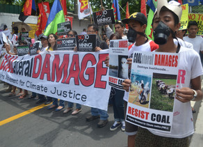 Climate activists now classed terrorists in the Philippines