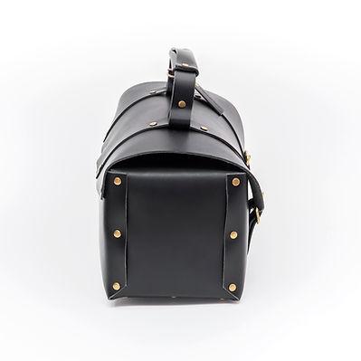 side ツールBOX型イタリアンレザーバッグ