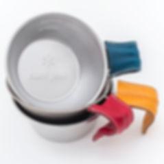 シェラカップ用 レザーグリップカバー