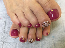 Services - Gel Pedicure