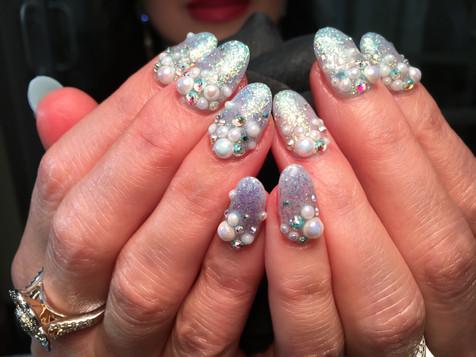 Long Nails - Light Colors