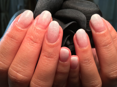 Simple Nails - Pink and Nude