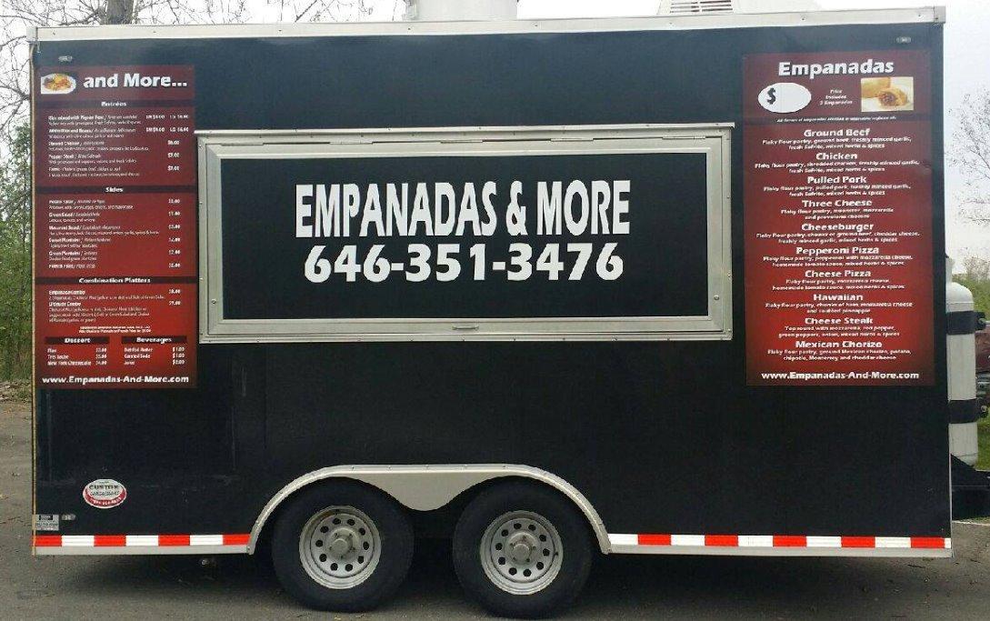 Food Truck Menu Empanadas And More Columbus Ohio