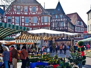 Wochenmarkt Bensheim