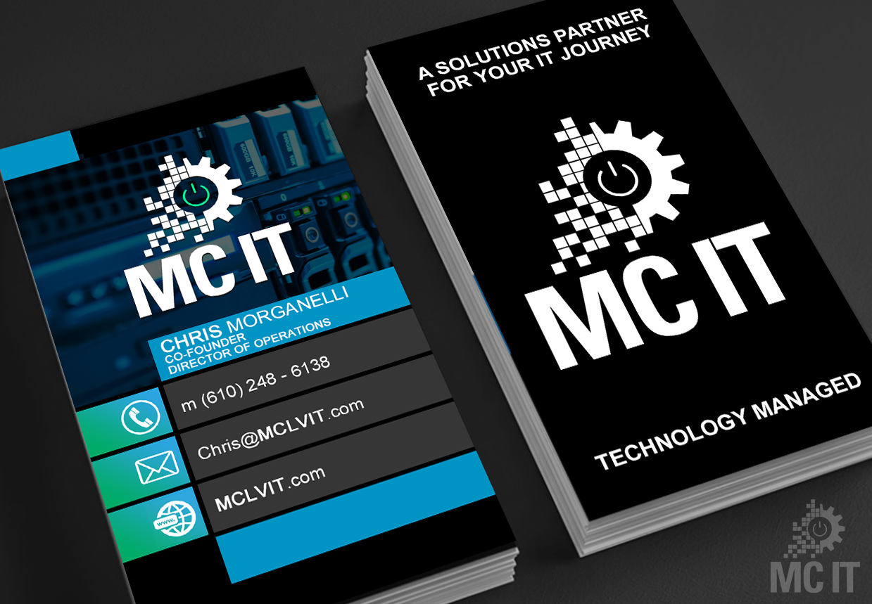 MC IT Business Cards
