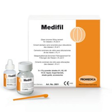 Medifil Glass Ionomer Restorative Material Promedica