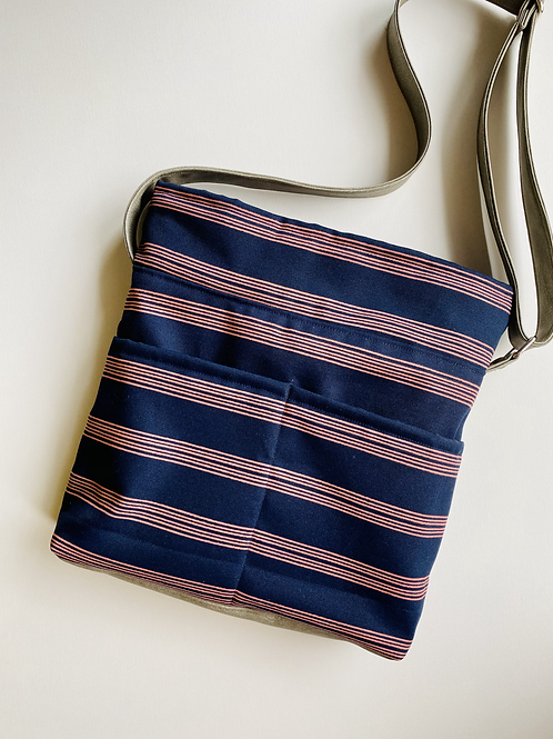 Antique Stripe Crossbody