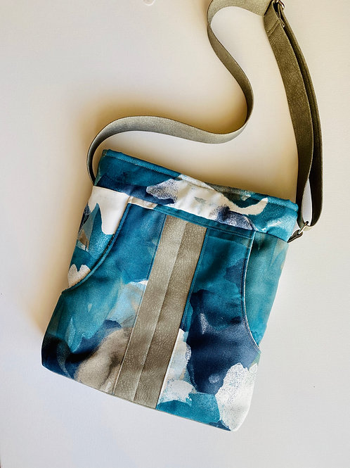 Sky Watercolor Crossbody