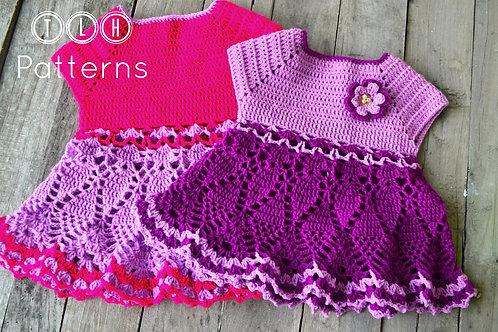 Elisa crochet baby dress