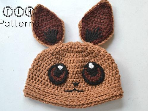 Pokemon Eevee hat