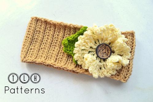 Crochet headband pattern - Adele warmer