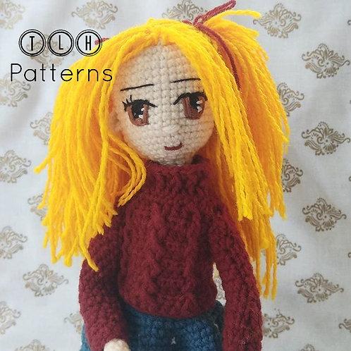 Heidi amigurumi doll