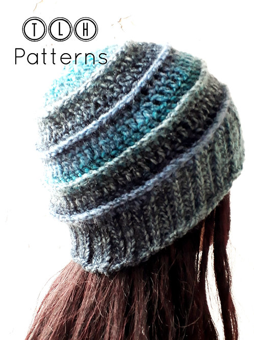 Crochet hat pattern - Adriano hat