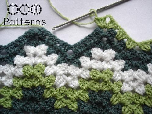 Granny ripple stitch pattern