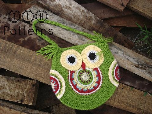 Funky owl bag