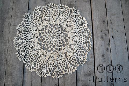 Mallika crochet doily pattern
