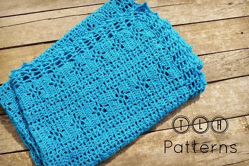 Jaylin crochet baby blanket pattern