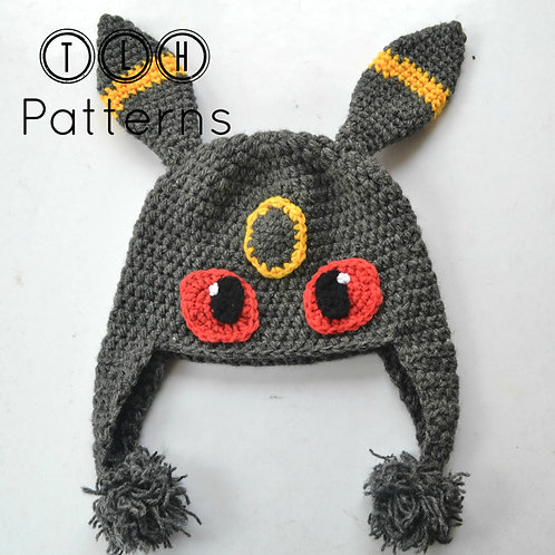Pokemon Umbreon hat