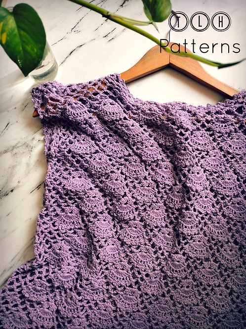 Lavender bells top