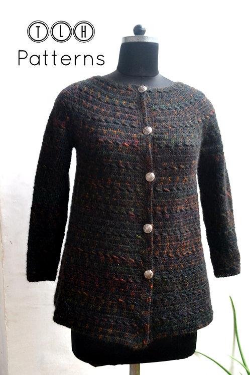 Cassidy crochet cardigan pattern