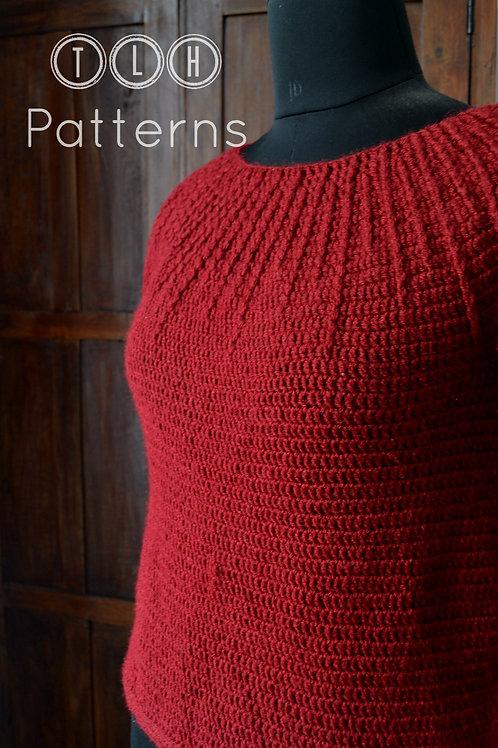 Kyra crochet pullover