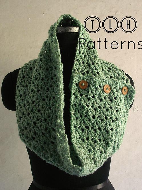 Honeydew button up scarf