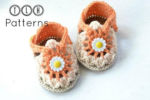 Flora baby sandals