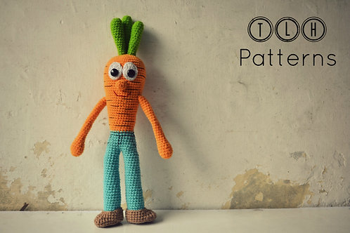 Cary the carrot boy
